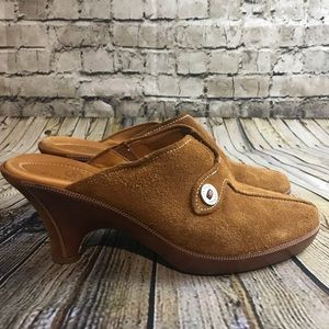 Cole Haan Women's Brown Closed Toe Shoes Size 7